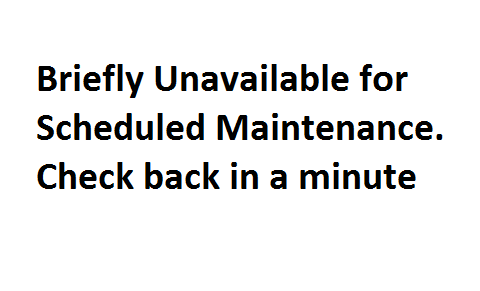 Khắc phục lỗi Briefly Unavailable for Scheduled Maintenance. Check back in a minute