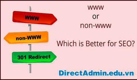 Redirect www to non-www