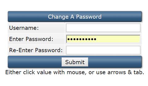 directadmin: Change A Password
