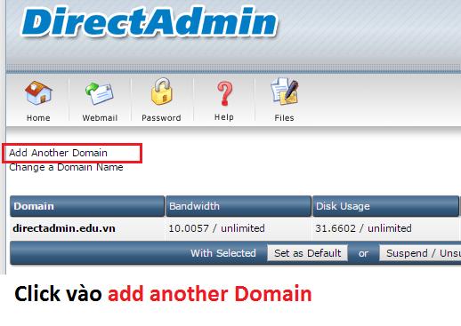 Hướng dẫn cách thêm tên miền trong DirectAdmin | Domain Setup - Direct Admin, Add Another Domain, Domain Setup Direct Admin